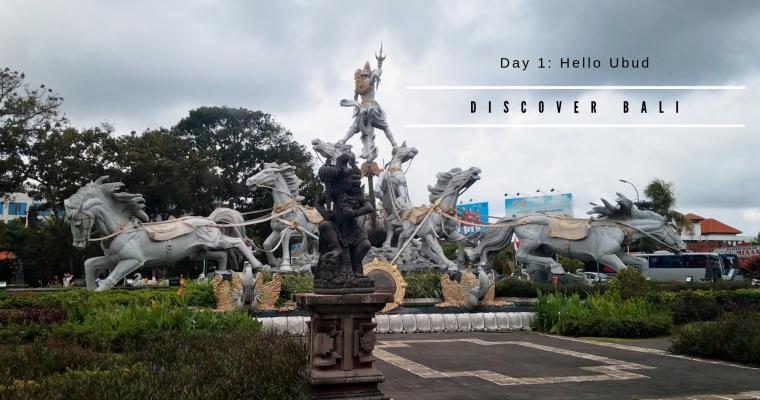 Discover Bali: Day 1 – Hello Ubud