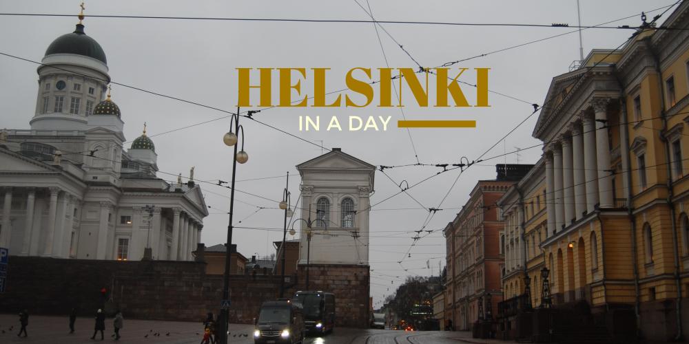 A Day in Helsinki, Finland