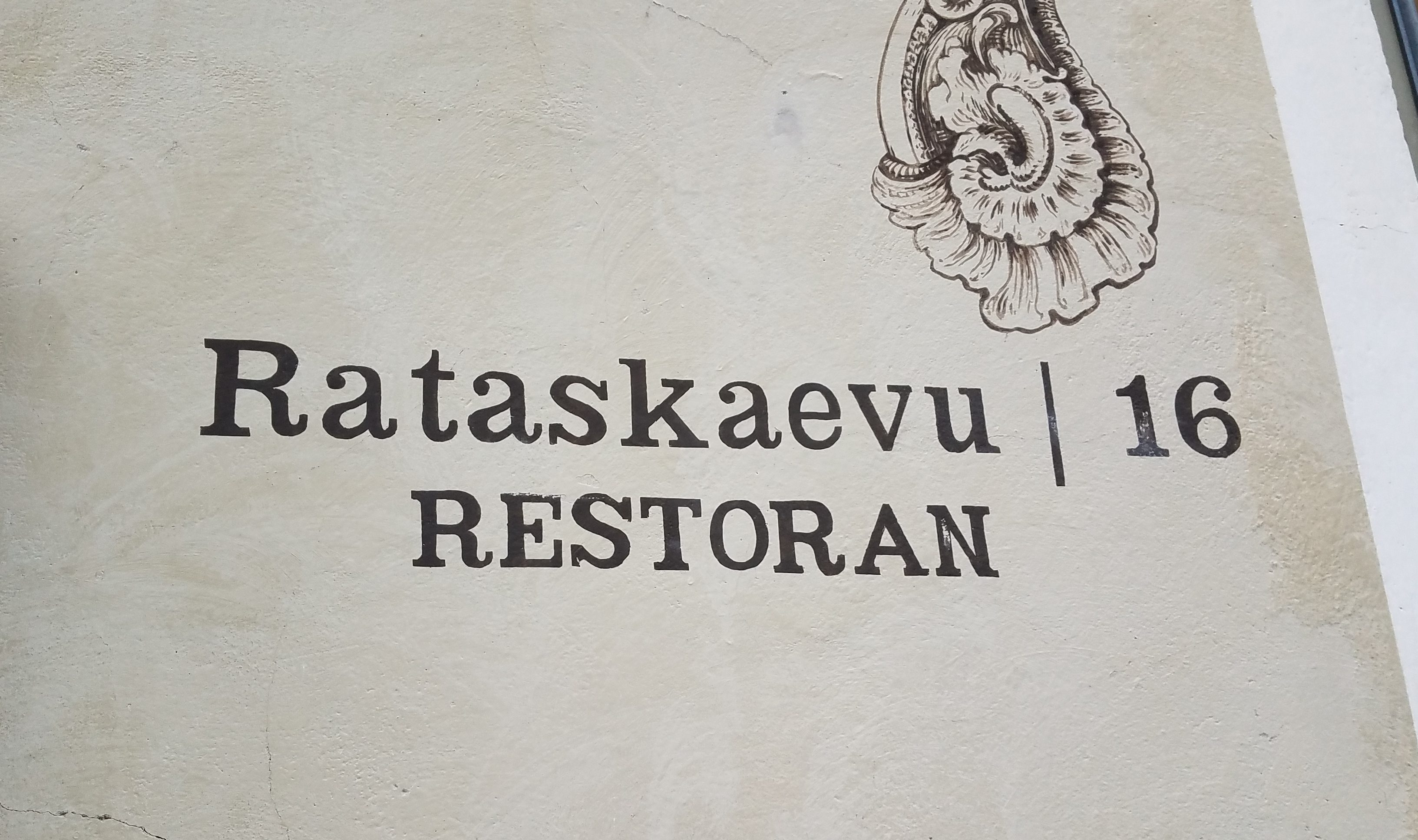 Rataskaevu 16, Tallinn's Most Popular Restaurant