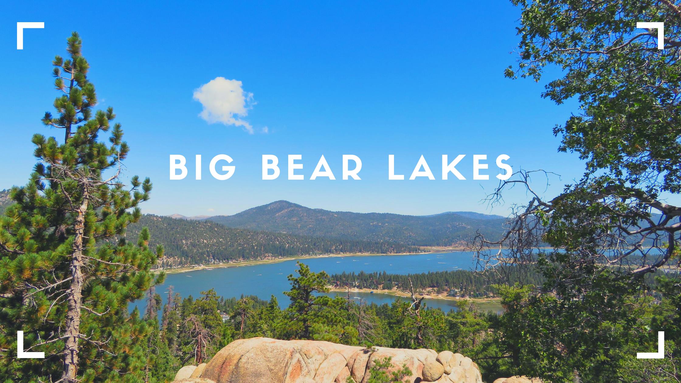 Glamping in Big Bear Lakes, CA